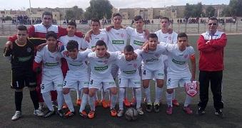 HAMRA U16 en demi finale (Coupe)