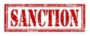 Reliquat des sanctions (2016/2017)