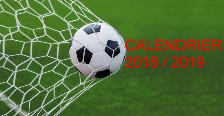CALENDRIER CHAMPIONNAT JEUNES U14 - U15 - U17-U19 (RECTIFIE LE 22/10/2018)